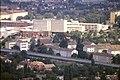 178R36270888 Blick vom Donauturm, Blick Richtung Donauzentrum, Trasse der U Bahn Linie U1, Wagramerstrasse.jpg