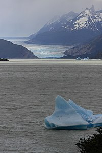 179 - Torres del Paines - Glacier Grey - Janvier 2010.JPG