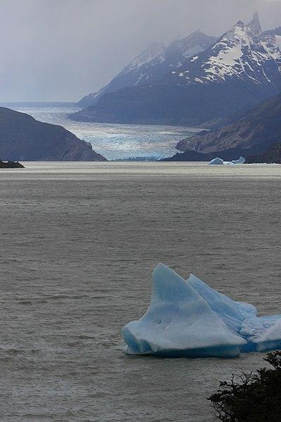 File:179 - Torres del Paines - Glacier Grey - Janvier 2010.JPG