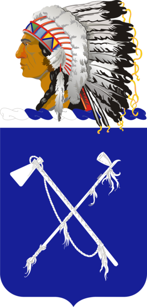 179th Infantry Regiment (United States) - Coat of arms