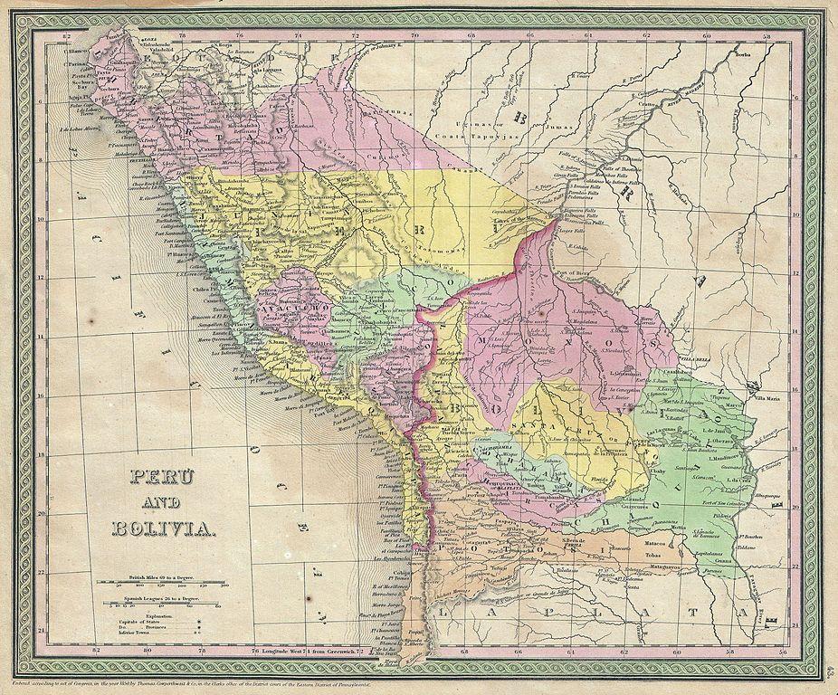 Archivo1850 mitchell map of peru and bolivia geographicus archivo1850 mitchell map of peru and bolivia geographicus perubolivia mitchell 1850g gumiabroncs Gallery