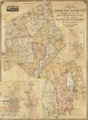1852 map BristolCounty Massachusetts byWalling BPL 10676.png