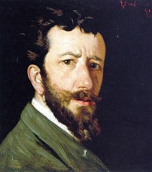 Federico Zandomeneghi - Self-portrait, 1875.
