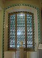 187 Casa Alegre de Sagrera (Terrassa), finestra del passadís del primer pis.JPG