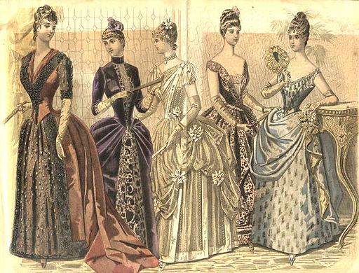 1888 Peterson's Magazine Fashion plate
