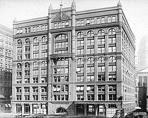 Rookery Building - Image: 1891 Rookery building
