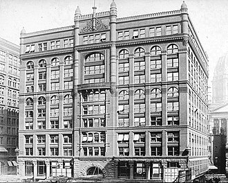 Burnham and Root - Rookery Building, 1891