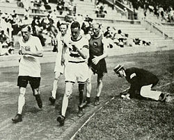 1912 Athletics men's 10 kilometre walk.JPG