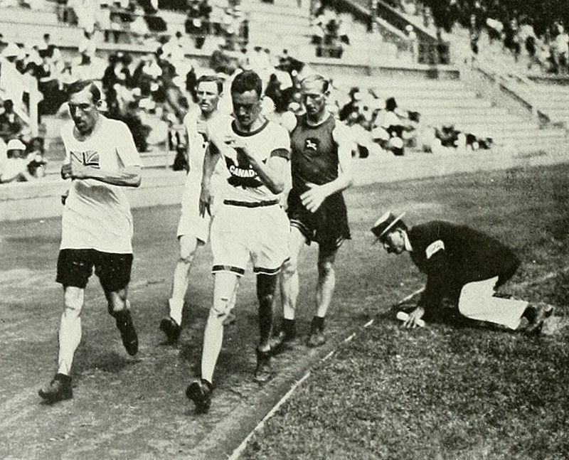 1912 Athletics men%27s 10 kilometre walk.JPG