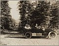 1917 Cadillac on a Washington road, ca 1917 (MOHAI 7190).jpg