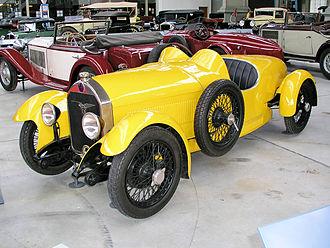 Autoworld (museum) - Image: 1925 FN 1300 Sport y f 3q