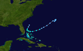1938 Atlantic tropical storm 6 track.png