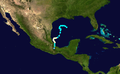 1949 Atlantic hurricane 9 track.png