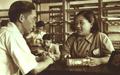1952-10 1952年李志辉是家庭妇女,进行失业登记以后,被介绍到上海市文物管理委员会图书馆工作.png