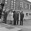 1957 Visite du ministre de l'agriculture Mr ANDRE DULIN au CNRZ-6-cliche Jean Joseph Weber.jpg