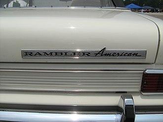 Rambler American - Rambler American badge