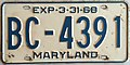 1967-68 Maryland license plate.JPG