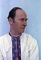 1975 Peter Kravchenko wearing a Ukrainian shirt.jpg