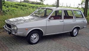 Renault 12 - Break, post 1975 facelift
