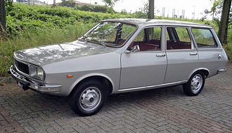 Renault 12 - Break, post 1975 facelift