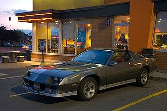 Chevrolet Camaro (third generation) - Camaro Z28, 1982-84 body style
