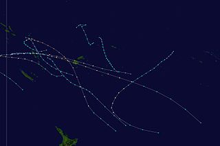 1984–85 South Pacific cyclone season cyclone season in the South Pacific ocean