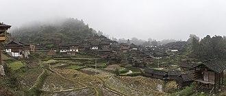 Guizhou - Bapa Dong, a Dong village in Eastern Guizhou