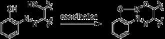 2-Aminophenol - Image: 2 aminophenol coord