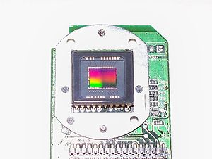 CCD from a 2.1 megapixel Hewlett-Packard digit...