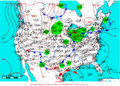 2006-02-10 Surface Weather Map NOAA.png