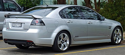 2006-2009 Holden VE Commodore SS V sedan (2010-12-28)