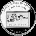 2006 Benjamin Franklin Silver Dollar (Reverse).png