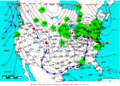 2007-04-04 Surface Weather Map NOAA.png