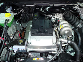 Ford Barra engine on ef fairmont