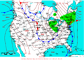 2009-04-21 Surface Weather Map NOAA.png