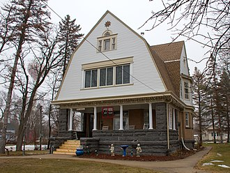 Belgrade, Minnesota - The Christopher Borgerding House, a historic home now used as a bed and breakfast, is listed on the National Register of Historic Places.
