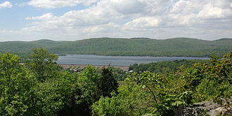 Wanaque Reservoir - View of the southern portion of Wanaque Reservoir from Wanaque Ridge in Ramapo Mountain State Forest