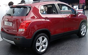 Chevrolet Trax - Chevrolet Trax (South Korea; pre-facelift)