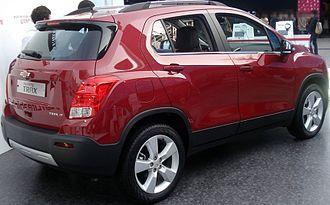Chevrolet Trax - Chevrolet Trax (South Korea; pre-facelift)