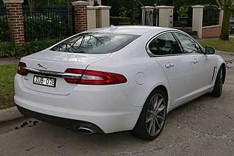 Jaguar XF (X250) - Facelift XF
