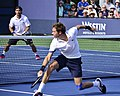 2013 US Open (Tennis) - Fabio Fognini and Nicolas Mahut (9657561851).jpg