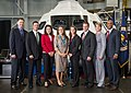 2013 class of NASA astronauts in front of an Orion mock-up.jpg