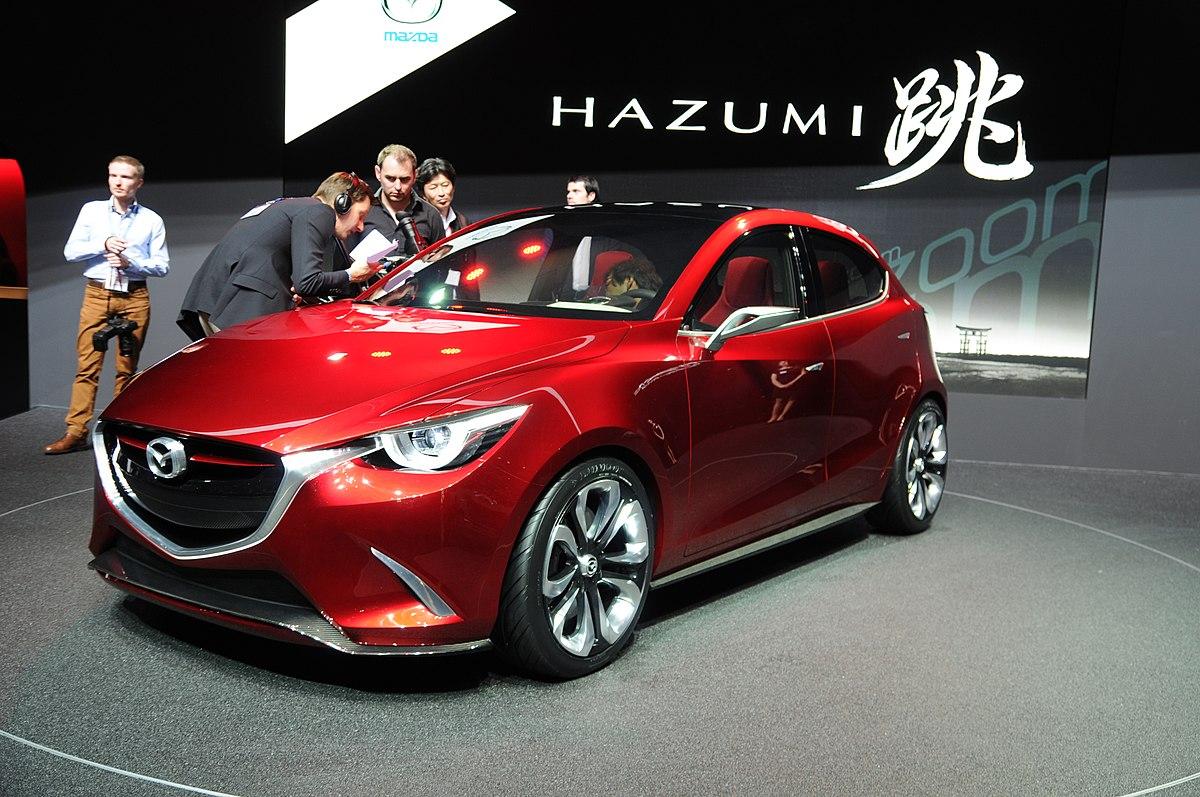 What Is Skyactiv Mazda >> Mazda Hazumi - Wikipedia