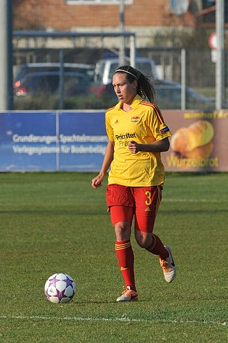 Whitney Engen - Engen with Tyresö FF on March 29, 2014.