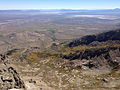 2014-09-24 12 18 19 View east-southeast across Lizzie's Basin from the summit of Hole-in-the-Mountain Peak, Nevada.JPG