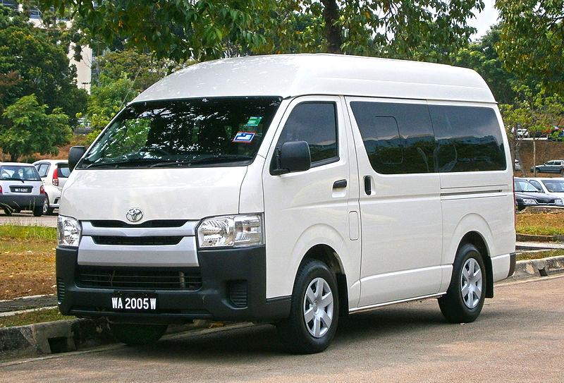 File:2014 Toyota HiAce Window Van (19725566842).jpg