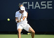 2014 US Open (Tennis) - Tournament - Roberto Bautista Agut (14914582138).jpg