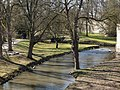 20150312 Maastricht; Jeker in Stadspark seen from Second Medieval City Wall 02.jpg