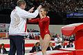 2015 European Artistic Gymnastics Championships - Vault - Ksenia Afanasyeva 12.jpg