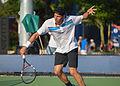 2015 US Open Tennis - Qualies - Jose Hernandez-Fernandez (DOM) def. Jonathan Eysseric (FRA) (20973210961).jpg